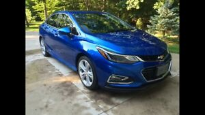 Loaded! 2016 Cruze RS LT Premiere