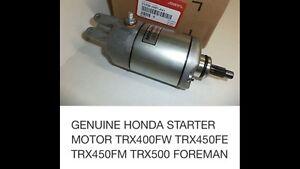 Honda ATV starter