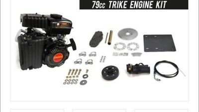 TRIKE 4-STROKE 79cc Engine Kit BEAST High Performance Motorized Bicycle. NICE