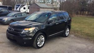 2015 FORD EXPLORER LIMITED +2 YEAR EXTENDED WARRANTY