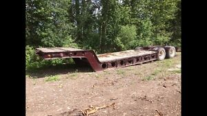 1984 9' wide lowbed cheap $3600 250-417-9817