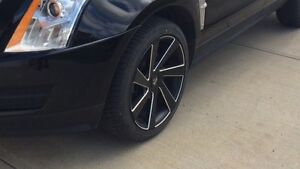 """20"""" Dub wheels and tires"""