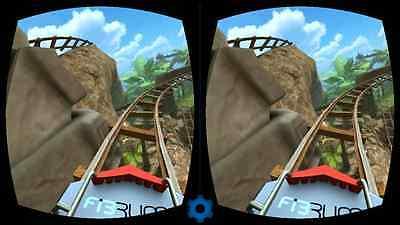 Mit der Roller Coaster VR App geht es auf Achterbahnfahrt (Scrrenshot Roller Coaster VR App)