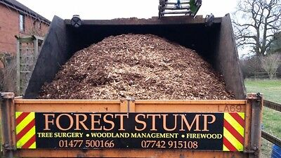 woodchip, Ideal Gardening, Equestrian, Cheap Mulch, Free Delivery Within 10miles