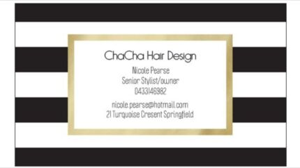 Chacha Hair Design Springfield Ipswich City Preview