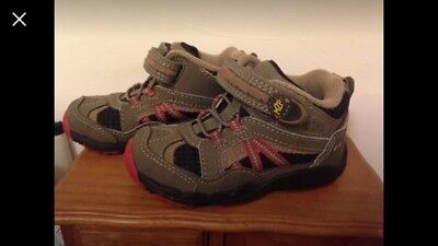 NEW Stride Rite Shoes Boys Ankle 5.5 High 22 Eu Leather