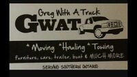 Moving hauling towing