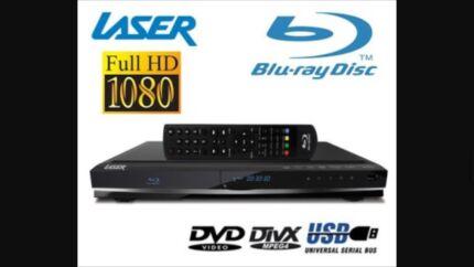 LASER BD2000 Multi REGIONS BLU-RAY DVD Player 1080HD HDMI/USB Cabramatta Fairfield Area Preview