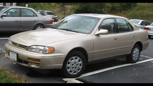 Wanted Toyota camry
