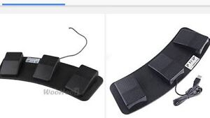 PC USB Foot Control Keyboard Action Switch Pedal