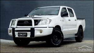 MY10 Hilux Turbo Diesel Auto Dual Cab 4x4 ute Southport Gold Coast City Preview