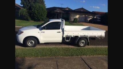 Ute for hire with man