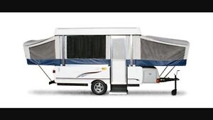 LOOKING FOR a tent trailer