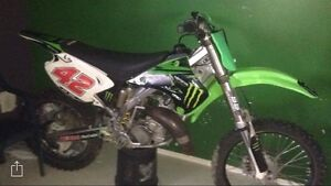Motocross kx125  2007