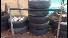 "Various 4x4 rims & tyres all 16"" Mandurah Mandurah Area Preview"
