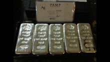 Pamp 1kg pure silver bullion investment bars Gillieston Heights Maitland Area Preview