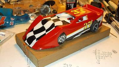 1/32 SCALE  DIRT LATE MODEL BODY CLEAR #3062