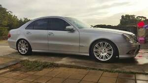 "18"" Mercedes E-Class Wheels and Tyres (Set of 4) Craigmore Playford Area Preview"