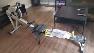 Concept 2 Model D stationary rowing machine