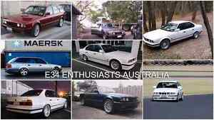 E34 ENTHUSIASTS  AUSTRALIA community.  (FB) Adelaide Region Preview