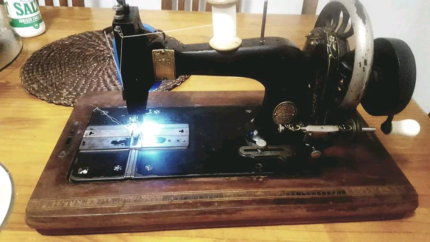 Frister and Rossman sewing machine