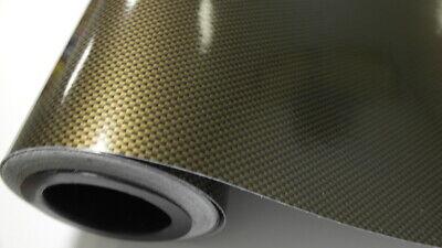 1,5 m² Braun 2D Carbon Folie Wrapping Car Auto Folien Blasenfrei Luftkanäle