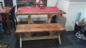 Rustic tables benches and chairs Peterborough Peterborough Area image 3