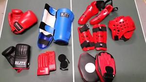 Martial arts sparring/training pads, gloves etc Monbulk Yarra Ranges Preview