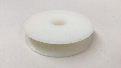 Pulley Kr-r Teflon Plastic Roller Pulley 3-12 Od 34 Bore 34 Width 58 Grv