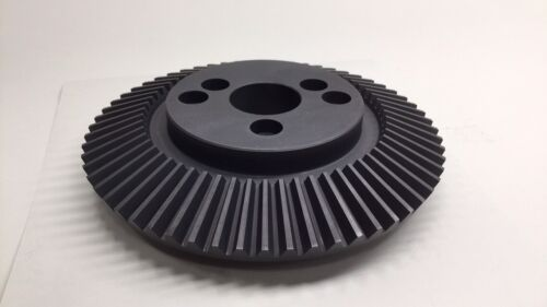"""Angelus 12L823 Used Feed Bevel Gear 60T 7-1/2"""" OD x 2-1/2"""" Bore x 1-3/4"""" Height"""