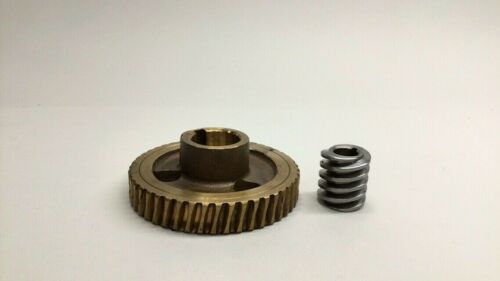 Bettendorf 23013 Used Brass Gear 23.5 and Worm