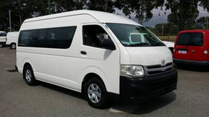 TOYOTA HIACE COMMUTER 12 SEATER AUTOMATIC Malaga Swan Area Preview