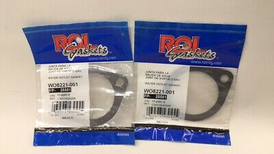 ROL WO8221-001 Water Outlet Gasket WO8221001 25581 17-4201-0 (Pack Of 2)