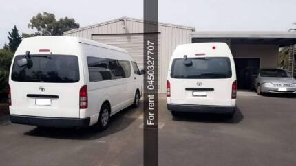 Van for rent