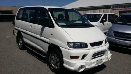 MITSUBISHI DELICA SPACEGEAR 4WD PEOPLE MOVER AUTOMATIC Malaga Swan Area Preview