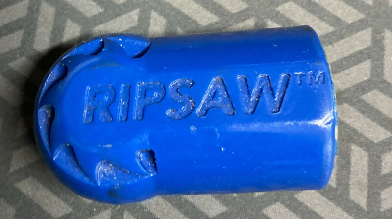 Hydro Excavation Rotary Nozzle Ripsaw Blue Series 3200 PSI - Shell Only