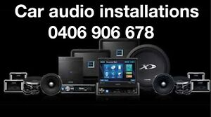 Car audio installations mobile radio ALL SYDNEY SUBURBS Blacktown Blacktown Area Preview