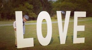 Marquee LOVE letters HIRE Southern River Gosnells Area Preview