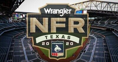 2020  National Finals Rodeo (NFR) Section 222 Tickets THU December 3rd Perf # 1