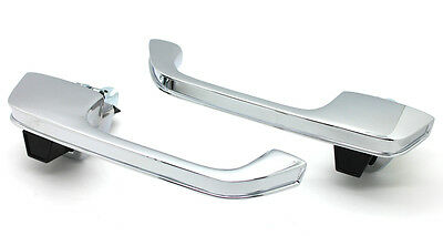 NEW Chrome Outside Door Handle SET / FOR 73-87 CHEVY GMC TRUCK BLAZER SUBURBAN - Gmc Suburban Outside Door Handle