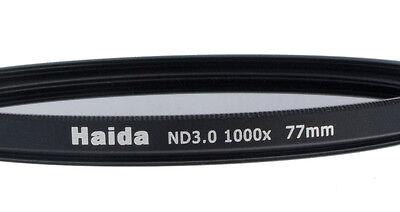Haida Neutral Graufilter ND1000x für Digitalkameras 77mm