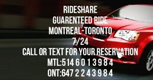 Seats available - Montreal to Toronto 8am - Thursday oct-18
