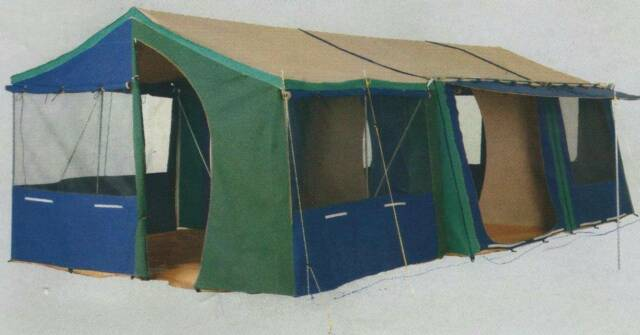 Great Outdoors Canvas Quot Hacienda Quot Family Tent Camping