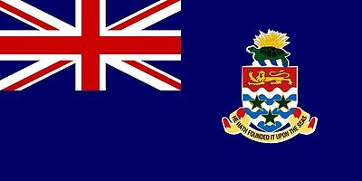 Islands Flag Decal Sticker (CAYMAN ISLANDS VINYL FLAG DECAL STICKER )