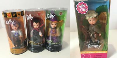Barbie Tommy Kelly Doll Lot 4 Target Halloween Sp Edition Party Detective Mint - Kelly Halloween 4