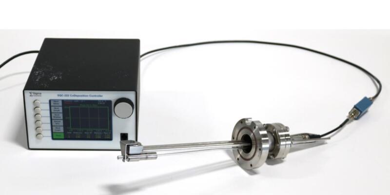 Sigma Instruments SQC-122C Deposition Controller w/ Quartz Monitor Crystal