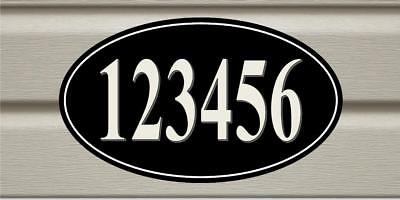 Personalized Your House Address Sign Plaque Aluminum  Any Number Or Text (House Address Sign)
