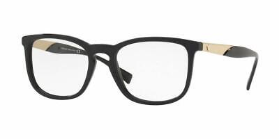 Versace VE3252 GB1 Women's Eyeglasses Black Brand New 54-19-145