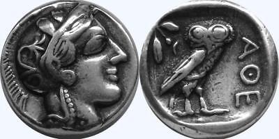 Owl Coin (Athena and Owl Greek Coin Annabeth's Mother Precy Jackson Teen Gift (PJ77-S) )