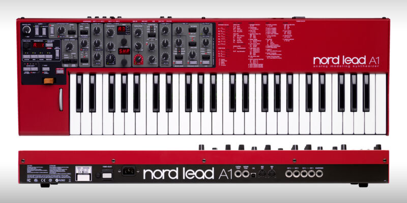 Nord Lead A1 Analog Modeling Synthesizer , 49-key Va Synth In Box //armens//